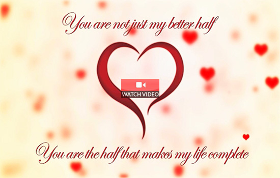 To My Loving Husband!