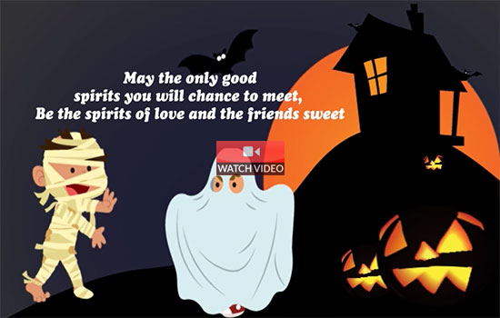 Good Halloween Spirits!