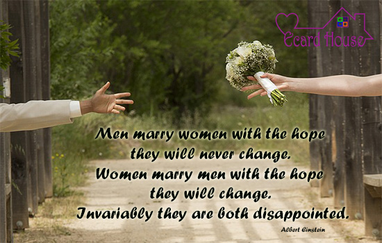 Disappointments After MARRIAGE