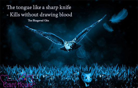 Kills Without Drawing Blood.