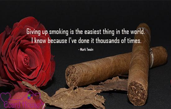 Habit of smoking