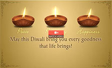 Diwali Wishing Lamps