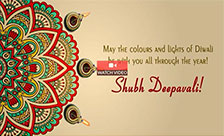 Colours & Lights of Diwali!