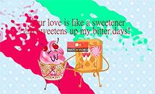 Sweetner Like Love!