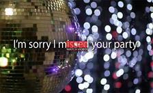 Sorry, I Missed