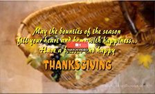 Thanksgiving Cornucopia!