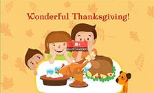 Wonderful Thanksgiving!