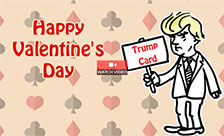 Trump Card Valentine!
