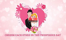 Send Wedding Day Flowers!