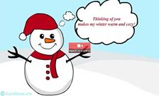 Winter Snowman!